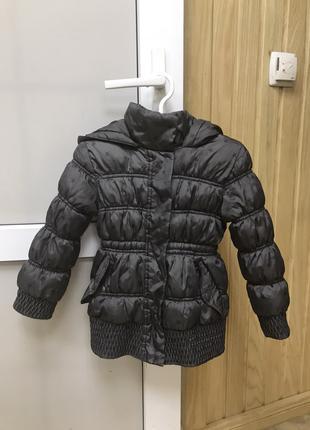 Куртка детская для девочки 3-4 года