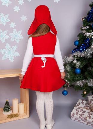 Новогодние костюмы  красная шапочка