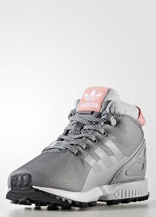 Детские ботинки adidas originals zx flux 5/8 trail (артикул: b...