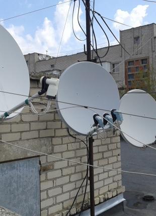 Установка спутниковых антенн, Т2, IPTV и видеонаблюдение