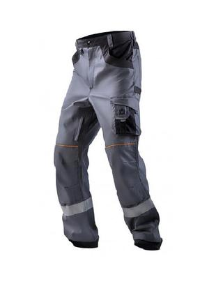 Брюки рабочие с дополнительными карманами, спецодежда