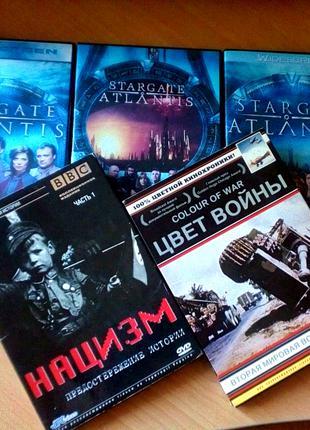 DVD-диски,StarGate\документальные фильмы(комплект)