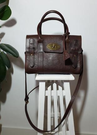 Mulberry кожаная сумка
