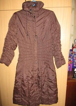 Длинная куртка пальто
