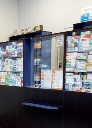 Кассовые прилавки (витрины) для магазина, аптеки, торгового остро