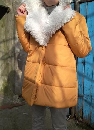 "Куртка ""white cloud"" от бренда bluecatlabel"