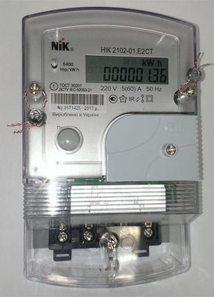 Электросчетчик НИК 2102-01.Е2СТ