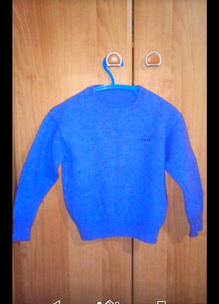 Шерстяний светр(теплый шерстяной свитер)