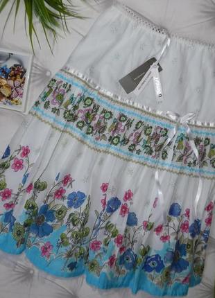 Нарядная, пышная юбка на фатине