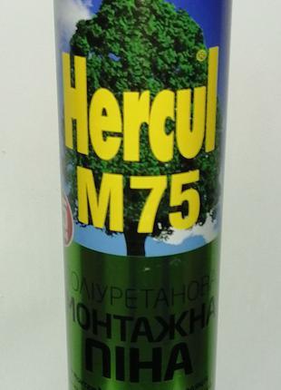 Профессиональная монтажная пена под пистолет Hercul M75