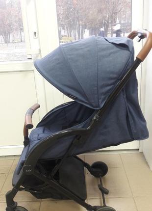 Детская прогулочная коляска Aby IndiGo 717 blue