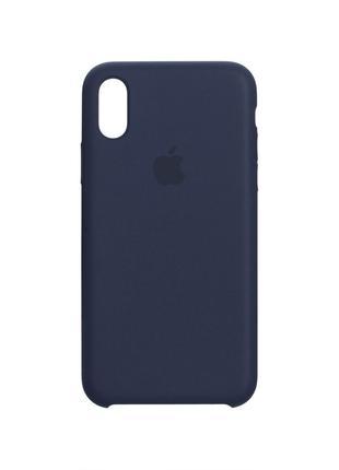 Чехол Original для Iphone Xs Midnight Blue