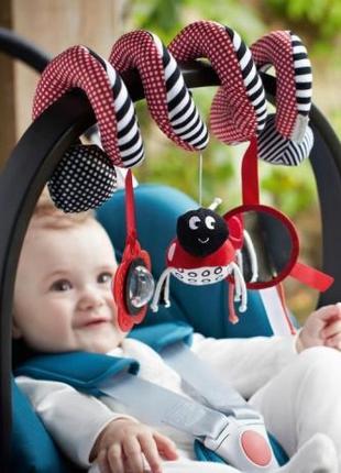 Растяжка-спиралька на кроватку, коляску, подвесная игрушка