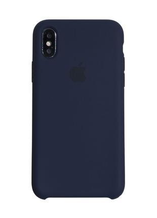 Чехол Original для Iphone X Midnight Blue