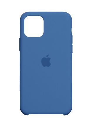 Чехол Original для Iphone 11 Linen Blue