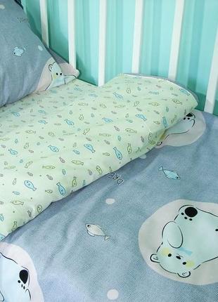 Постельное белье, сатин. в кроватку, подростковый, полуторный