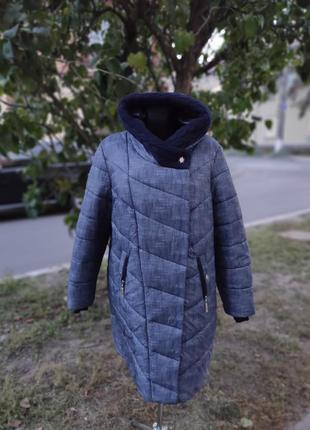 Пальто зимнее женское 54 размер