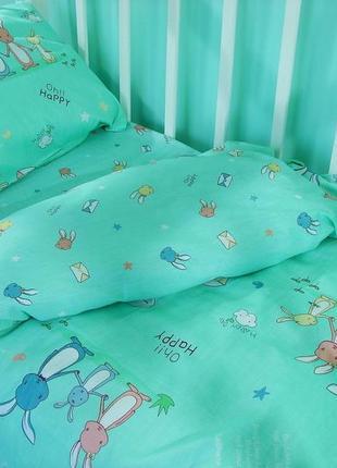 Постельное белье детское, сатин. в кроватку, подростковый, пол...