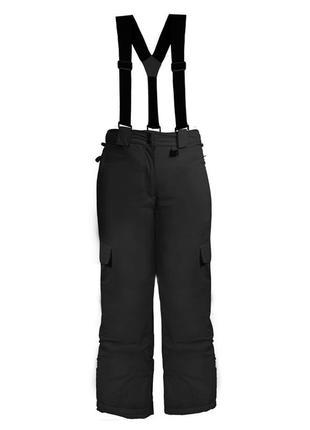 Фирменные лыжные штаны с подтяжками