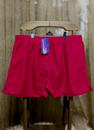 Мужские бордовые короткие шорты для плавания