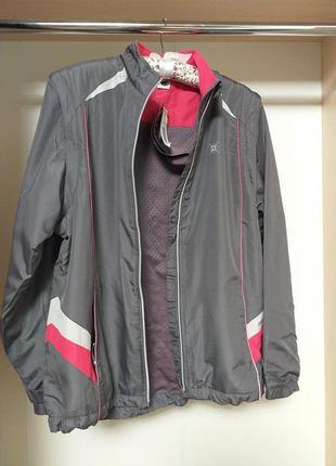 Спортивная куртка трансформер жилетка shamp