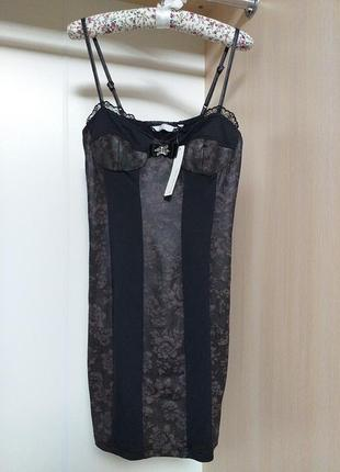 Платье комбинация бельевой стиль