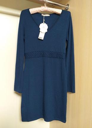 Теплое платье с длинным рукавом maïa hemera paris