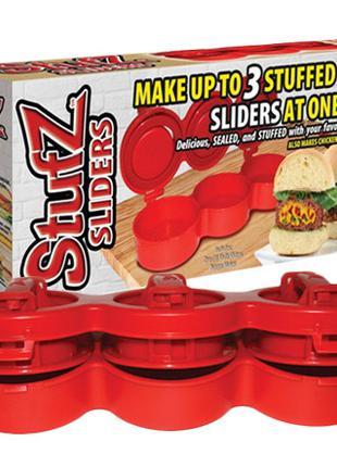Ручной пресс для приготовления гамбургеров Stufz Sliders, приб...