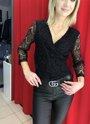 Кружевная блуза боди итальянского бренда rinascimento by kitan...