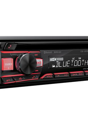 Автомагнитола CD/USB Alpine CDE-203BT с Bluetooth