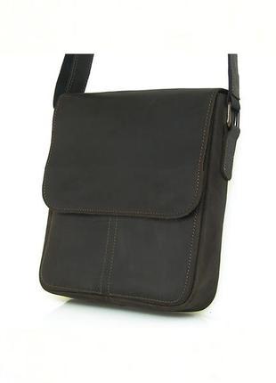 Мужская удобная кожаная сумка повседневная мужская сумка сумка...