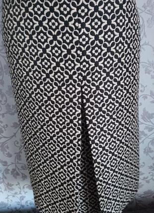 Плотная фактурная юбка fhase eight