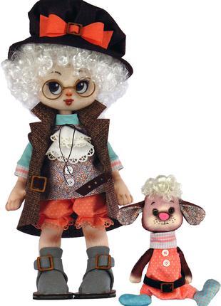 Набор для шитья куклы и мягкой игрушки Мальчик с овечкой