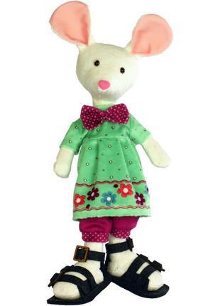 Набор для шитья мягкой игрушки Белая мышка