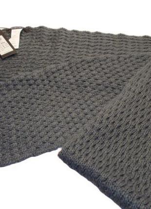 Красивый вязаный женский шарф бренд pieces - дания