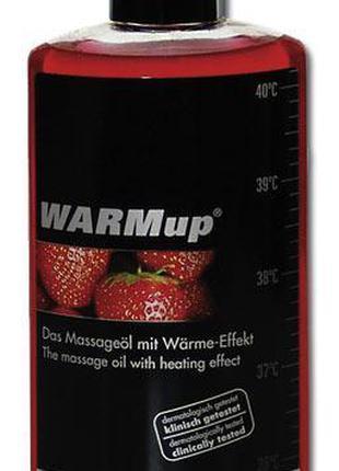 Массажное масло WARMup клубника 150 мл