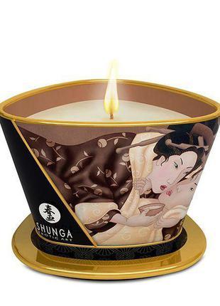 Массажная свеча Shunga MASSAGE CANDLE - Intoxicating Chocolate