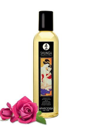 Массажное масло Shunga Aphrodisia - Roses