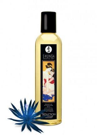 Массажное масло Shunga Seduction - Midnight Flower