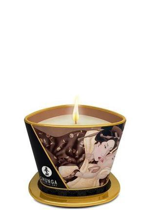 Свеча для массажа MASSAGE CANDLE INTOXICATING CHOCOLATE, 170 мл