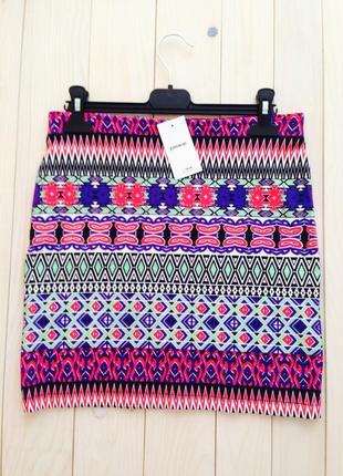 Распродажа разноцветная мини юбка pimkie