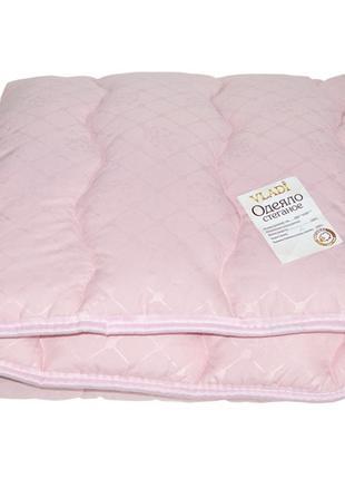 Детское одеяло шерстяное стеганное Vladi - 100*140 розовое