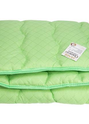 Детское одеяло шерстяное стеганное Vladi - 100*140 салатовое