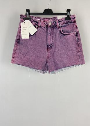 Крутые качественные плотные короткие коттоновые джинсовые шорт...