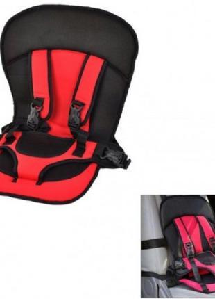 Детское Автокресло КРАСНОЕ Multi Function Car Cushion (50)
