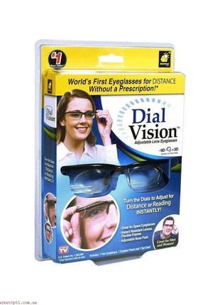 Очки с регулировкой линз Dial Vision Adjustable Lens Eyeglasse...