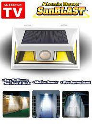 Светильник с датчиком движения на солнечной батарее Atomic Bea...