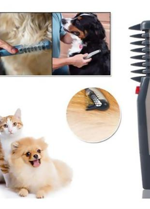 Расческа для шерсти животных Knot Out Electric Pet Comb (WN-34...