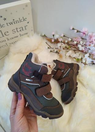 Зимние сапоги для мальчика, ботинки зимние