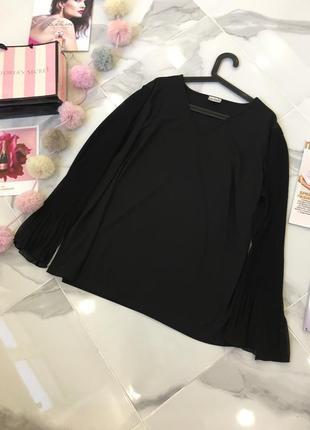Блуза с рукавами пляссе  - акция 1+1=3 в подарок 🎁